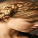 Saç Örgü Modelleri-Şerit Örgülü Topuz Modeli