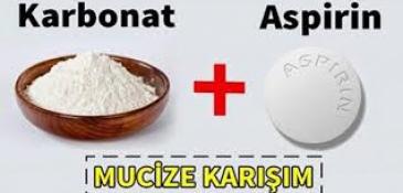 Aspirin Karbonat Maskesi
