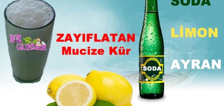 Soda, Ayran ve Limon ile Zayıflama Kürü