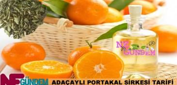 Ağız Sağlığına Adaçaylı Portakal Sirkesi