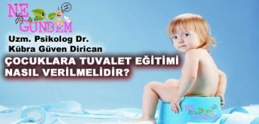 Çocuklara Tuvalet Eğitimini Nasıl Vermeliyiz?