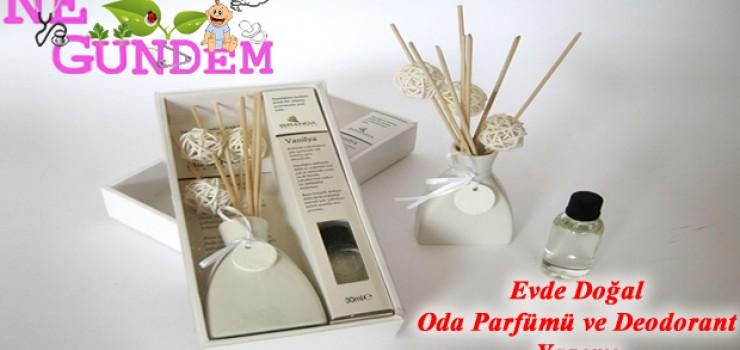 Ev Yapımı Deodorant ve Oda Parfümü