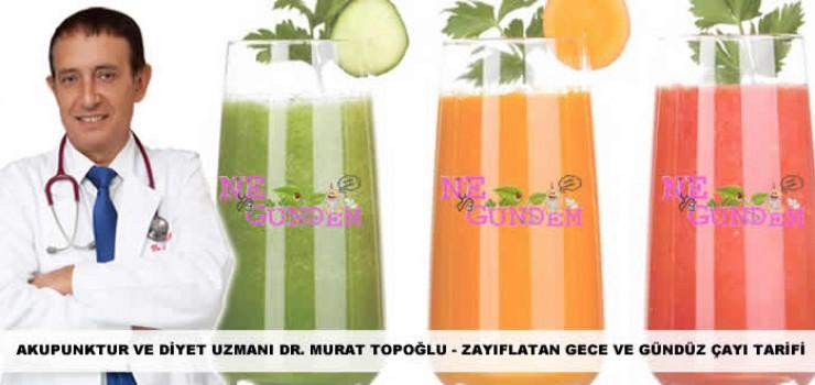 Dr. Murat TOPOĞLU – Zayıflatan Çay Tarifi