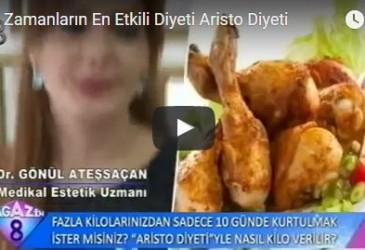 Dr. Gönül ATEŞSAÇAN – Aristo Diyeti Video