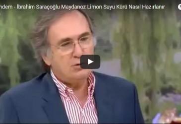 İbrahim SARAÇOĞLU – Mucize Maydanoz Kürü Video