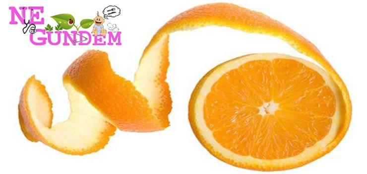 Portakal Kabuğunun Bilinmeyen Faydaları