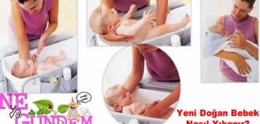 Doğru Bebek Yıkama – Ne Gündem
