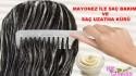 Mayonez ile Saç Bakımı ve Saç Uzatma
