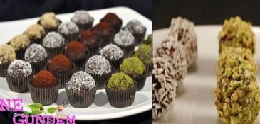 Serap KUNAK – Organik Çikolatalı Toplar
